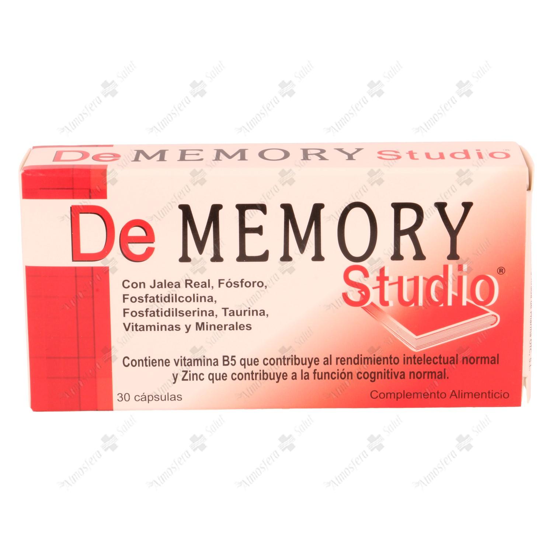 DE MEMORY STUDIO 30 CAP- 000569 -