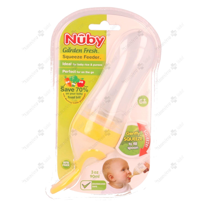 NUBY CUCHARA PAPILLA PARA 90ML- 001563 -