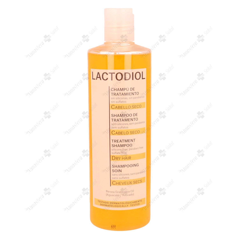 LACTODIOL CHAMPU TRATAMIENTO CAB. SECO 400 ML- 003915 -