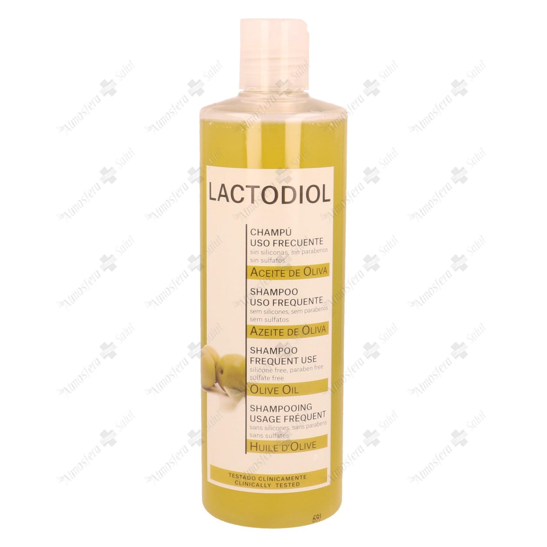 LACTODIOL CHAMPU FRECUENCIA ACEITE OLIVA 400 ML- 003939 -