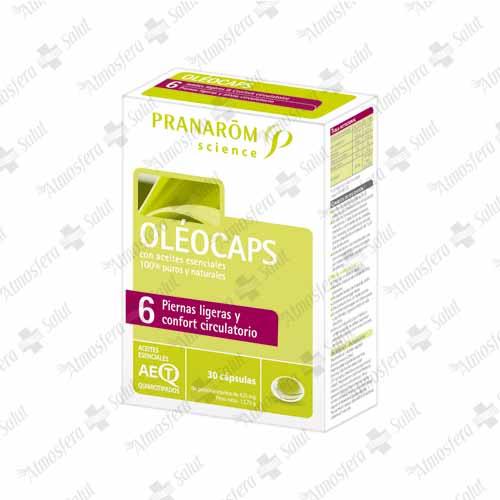 PRANAROM OLEOCAPS N 6  PIERNAS LIGERAS 30 CAPS