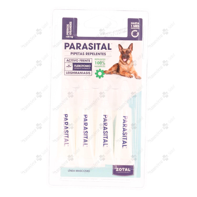 PARASITAL PIPETA PERRO GRANDE 4X5ML 20 ML- 010150 -