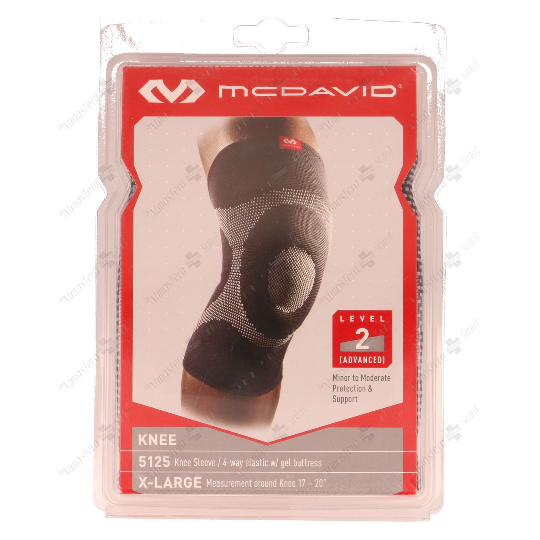 MCDAVID RODILLERA ELASTICA C RODETE DE GEL T XL- 010587 -