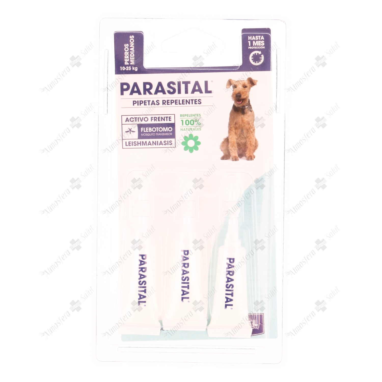 PARASITAL PIPETA PERROS MEDIANOS 3X2.5ML- 020110 -
