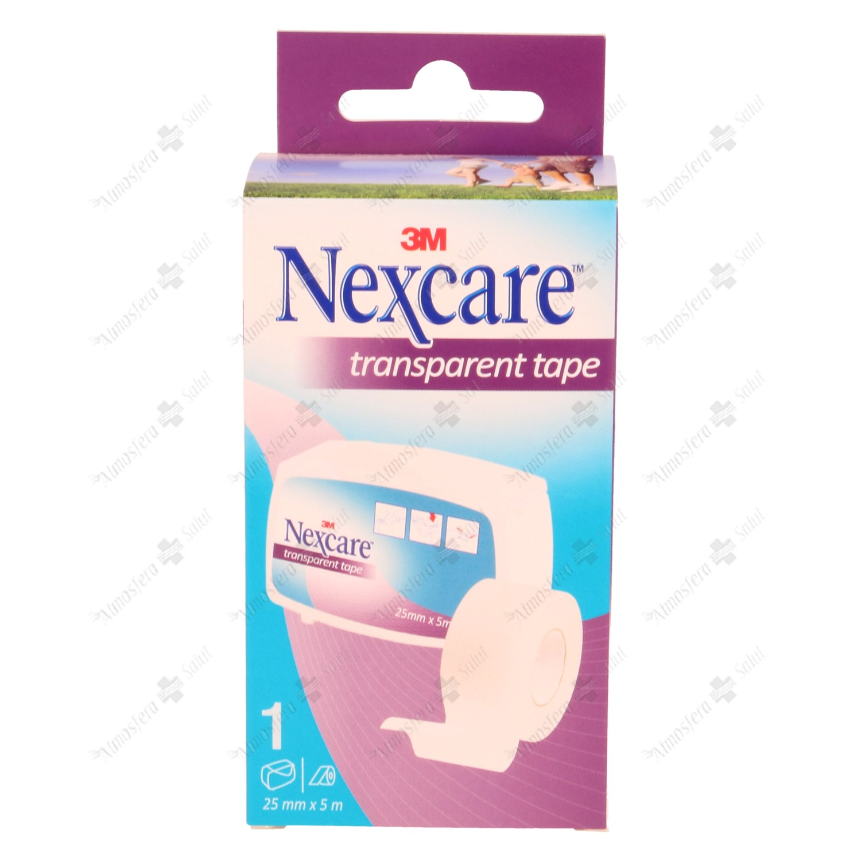 NEXCARE ESPARADRAPO TRANSPARENTE PLASTICO 5X2.5- 044932 -