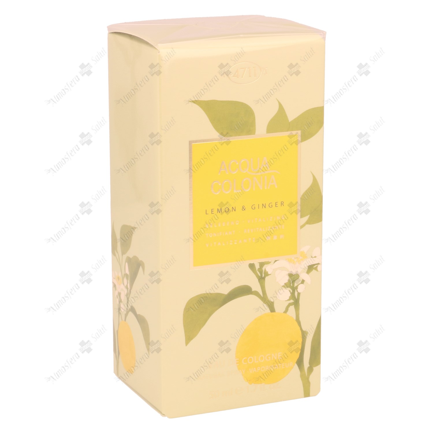 4711 EAU DE COLONIA LIMON & JENGIBRE 50 ML
