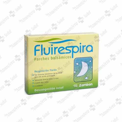 FLUIRESPIRA INFANTIL 6 PARCHES- 123455 -