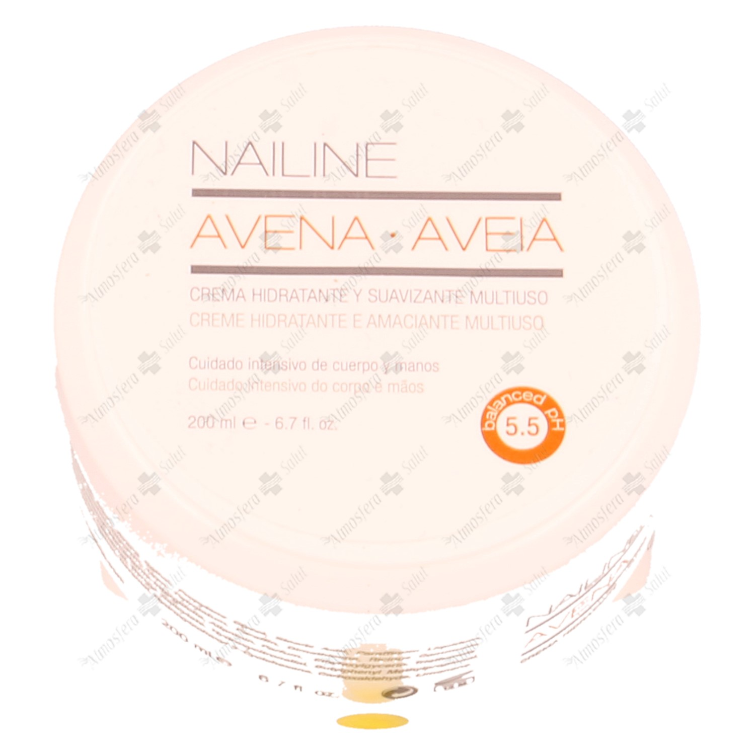 NAILINE CREMA MULTIUSO AVENA 200 ML.- 146436 -