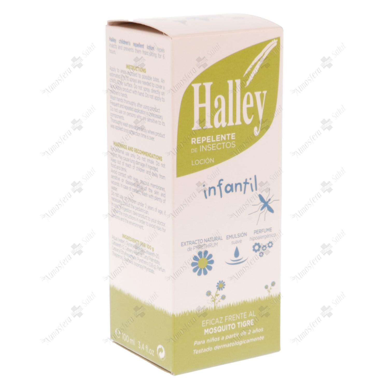 HALLEY LOCION INFANTIL REPELENTE INSECTOS 100 ML