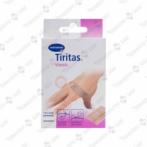 TIRITAS CLASSIC 1MX6 CM PRECORTADAS
