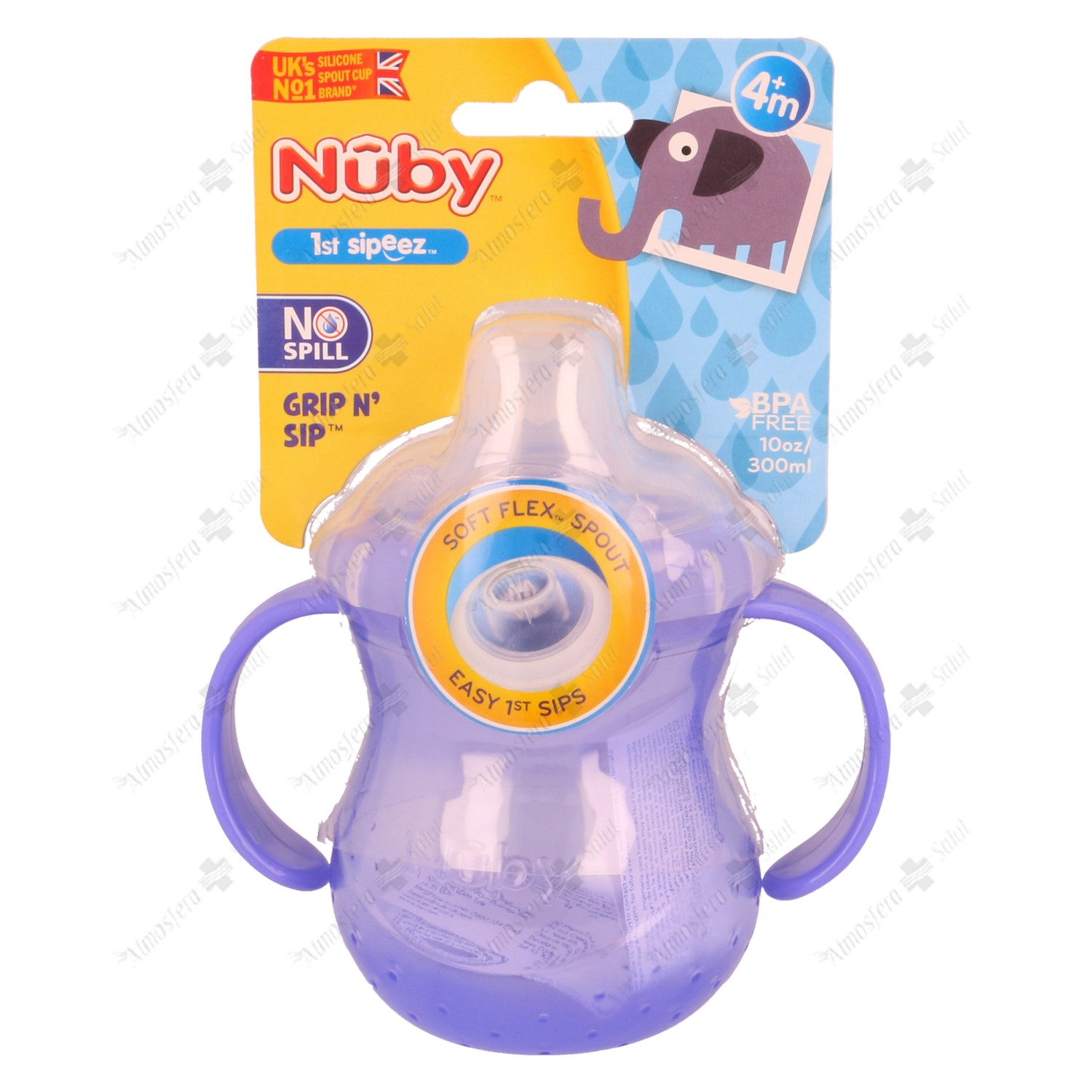 NUBY TAZA ANTIGOTEO 300 ML- 162793 -  DC PHARM