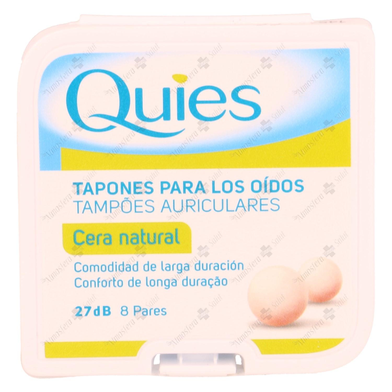 TAPONES OIDOS QUIES CERA 16 UNID.