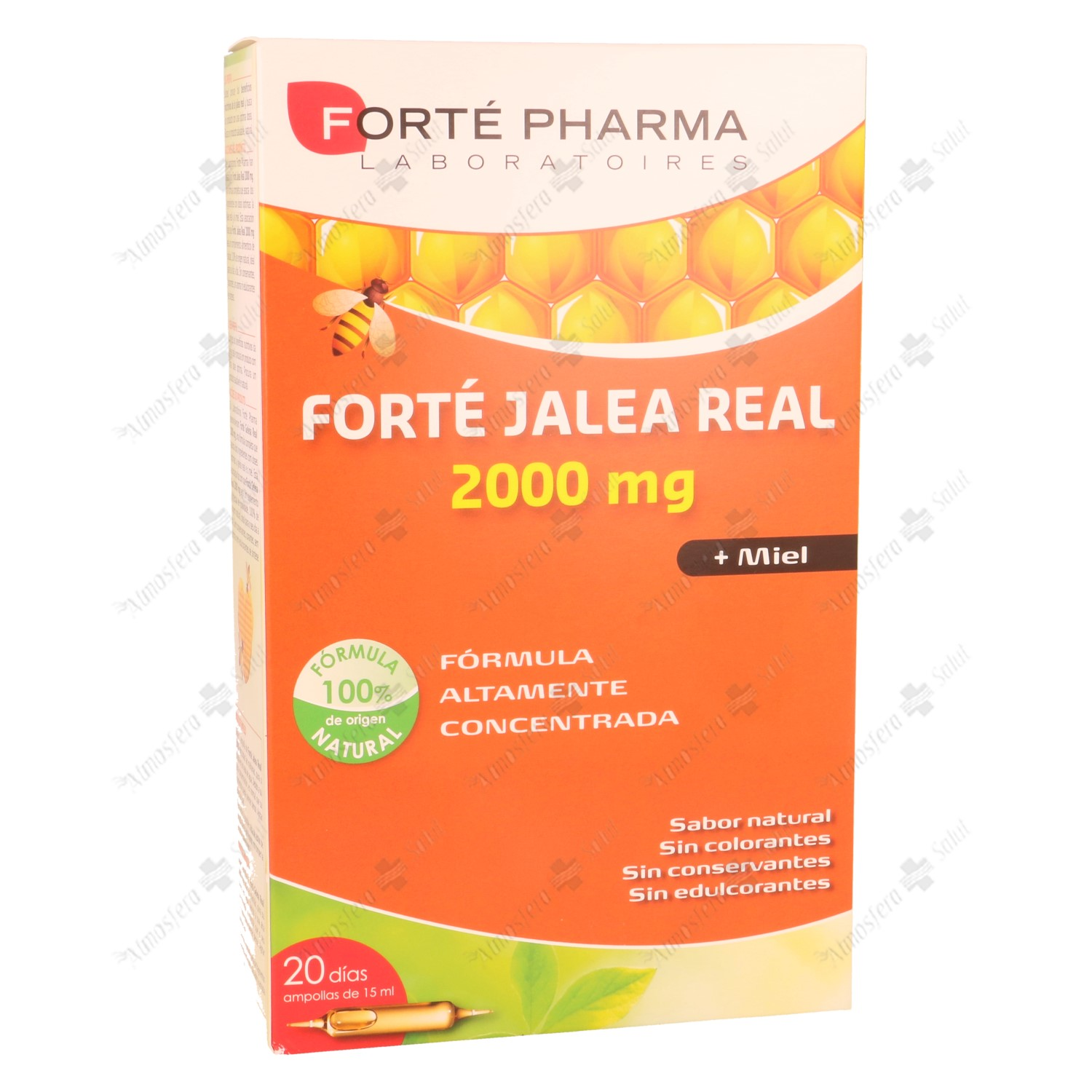 JALEA REAL 2000 MG FORTE PHARMA 20 AMPOLLAS