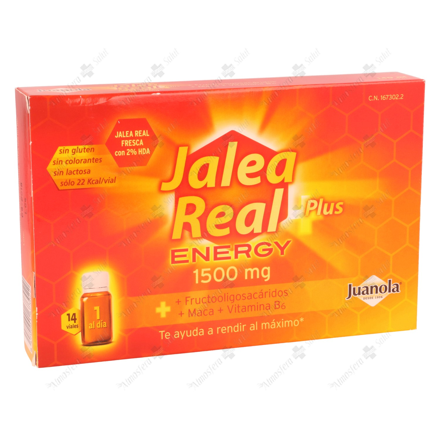 JALEA REAL JUANOLA ENERGY PLUS 14 VIALES