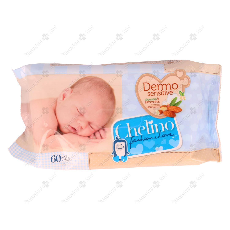 CHELINO TOALLITAS INFANTILES 60 U