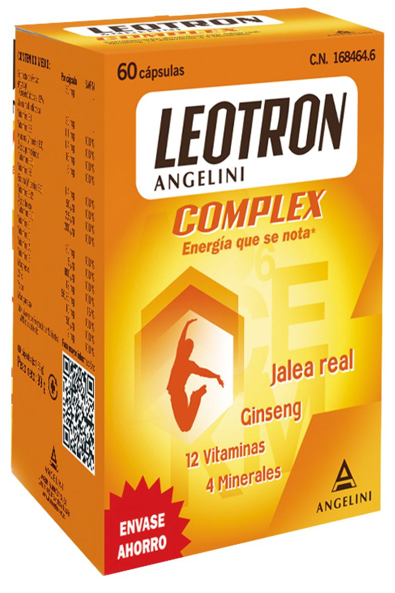 LEOTRON COMPLEX 60 CAPSULAS- 168464 -  FARMA-LEPORI