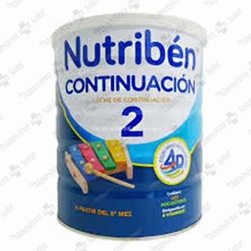 NUTRIBEN CONTINUACION PRO-ALFA 2  800 G