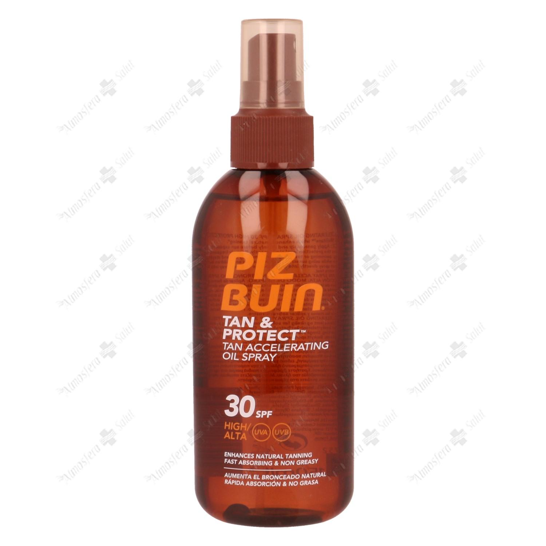 PIZ BUIN FPS30 PROTECCION MEDIA ACEITE 150 ML