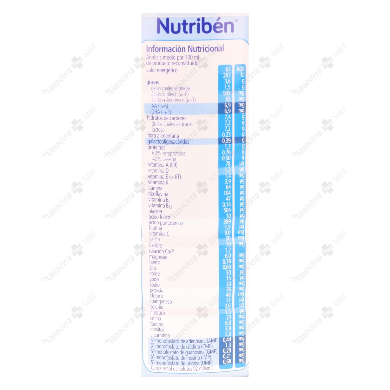 NUTRIBEN NATAL 800 G- 171604 -  ALTER FCIA