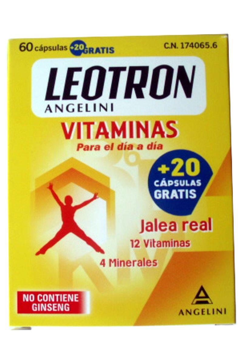 LEOTRON VITAMINAS ANGELINI 60 CAPSULAS- 174065 -  FARMA-LEPORI