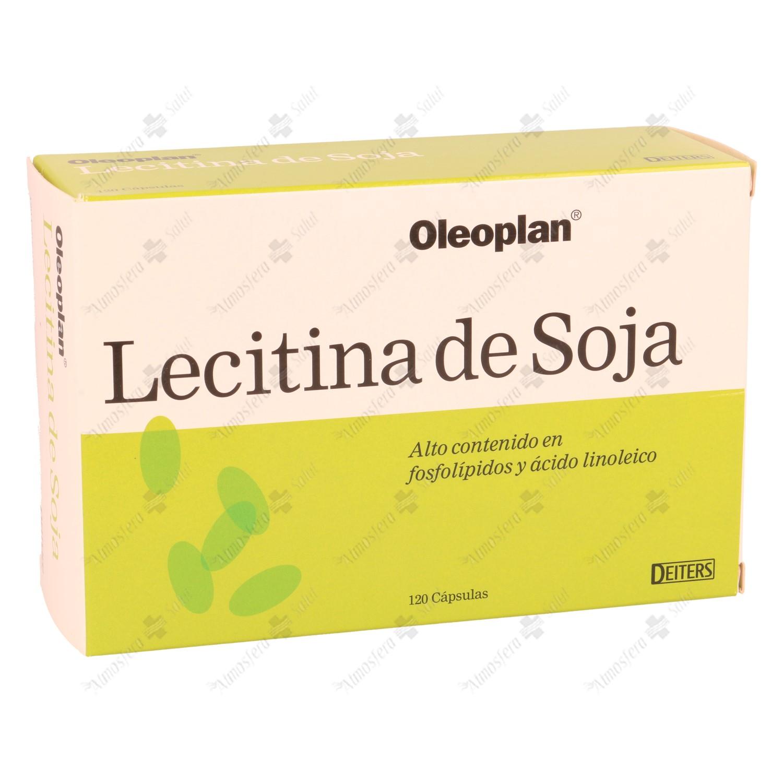 OLEOPLANT LECITINA DE SOJA 500 MG 120 CAPS- 181876 -  DEITERS