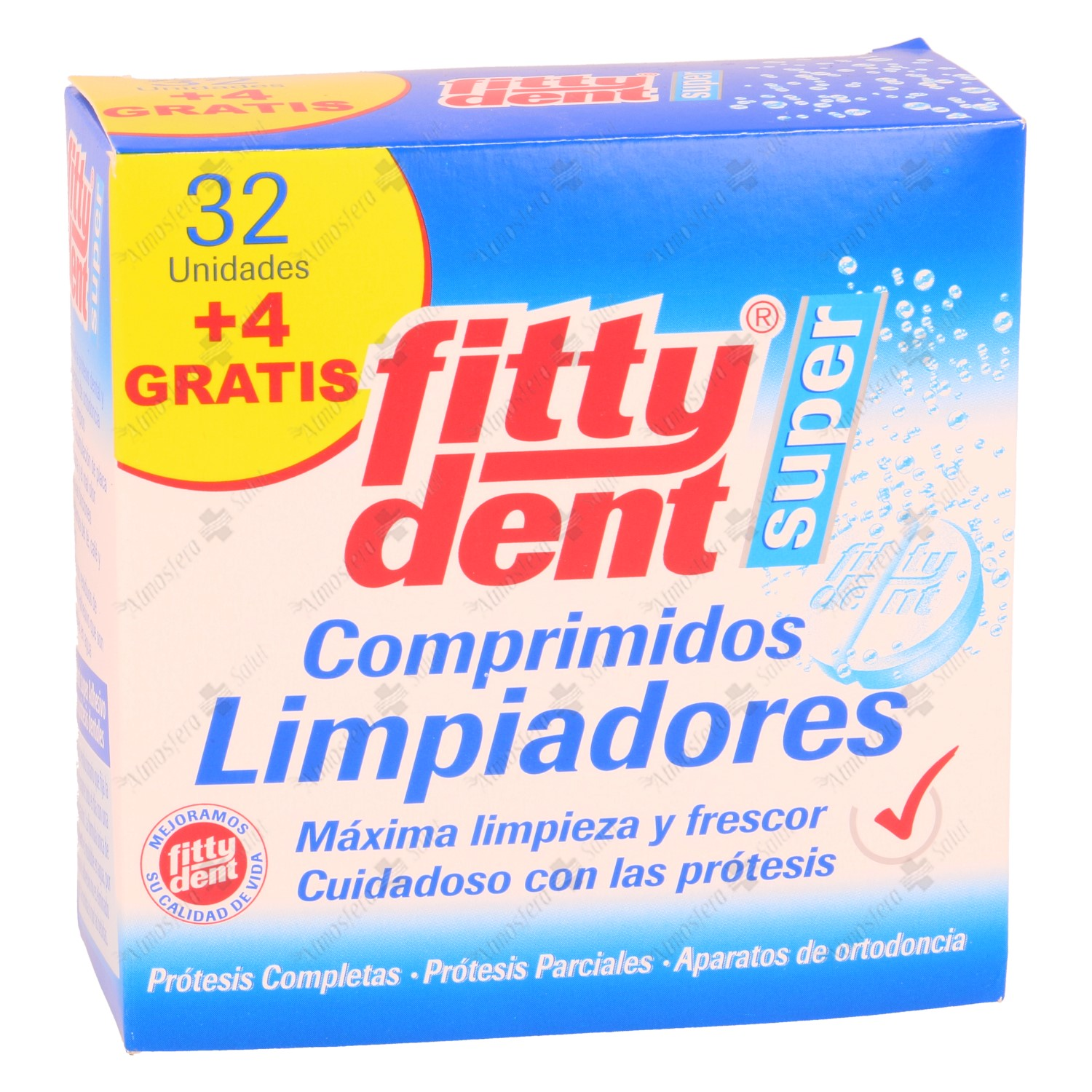 FITTYDENT SUPER COMP LIMPIEZA PROT. DENTAL 32+4- 182512 -  PHB