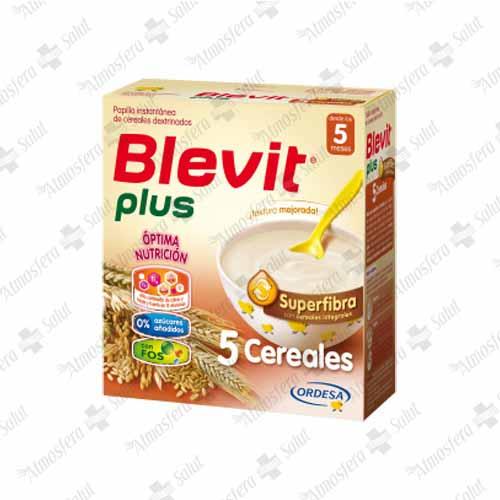 BLEVIT PLUS SUPERFIBRA 5 CEREALES 2X300G 600 G