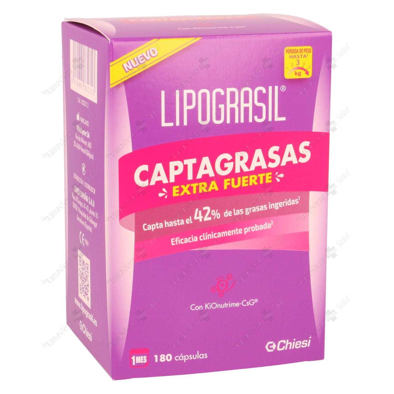LIPOGRASIL CAPTAGRASAS EXTRAFUERTE 180 CAPS- 183231 -  CHIESI