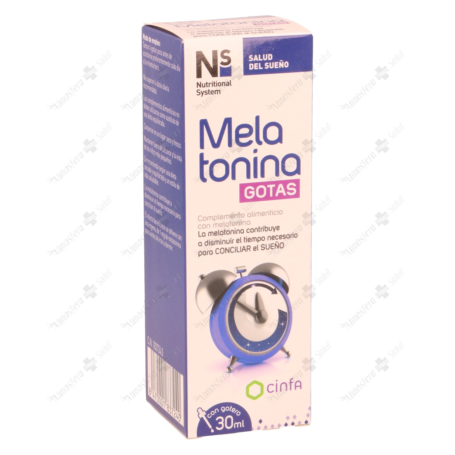 NS MELATONINA GOTAS 1MG 30 ML