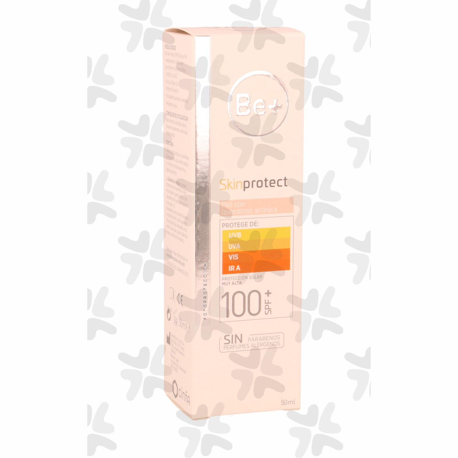 BE+ SKIN PROTECT PIEL QUERAT. SPF 100