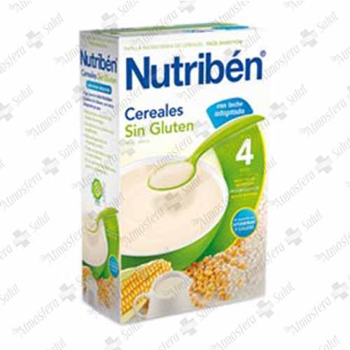 NUTRIBEN PAPILLA CEREALES SIN GLUTEN 2X300 600 G