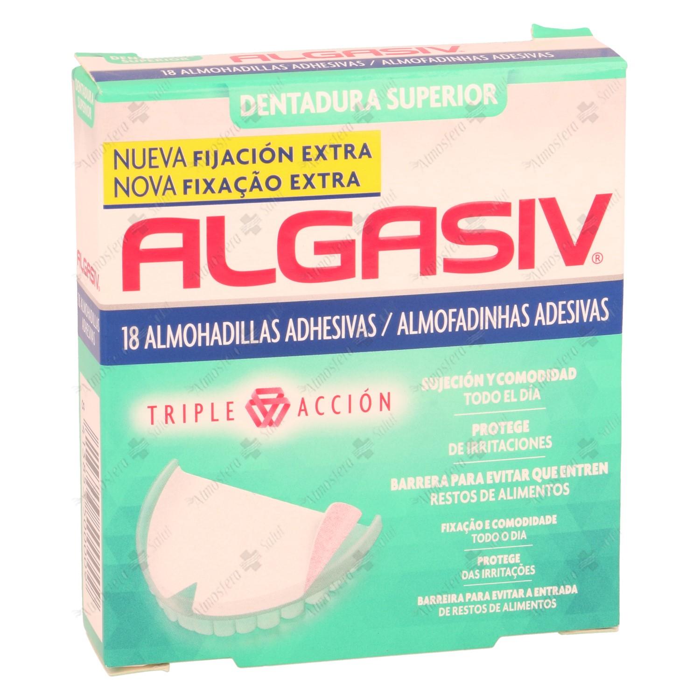 ALGASIV DENTADURA SUPERIOR 18 UNIDADES
