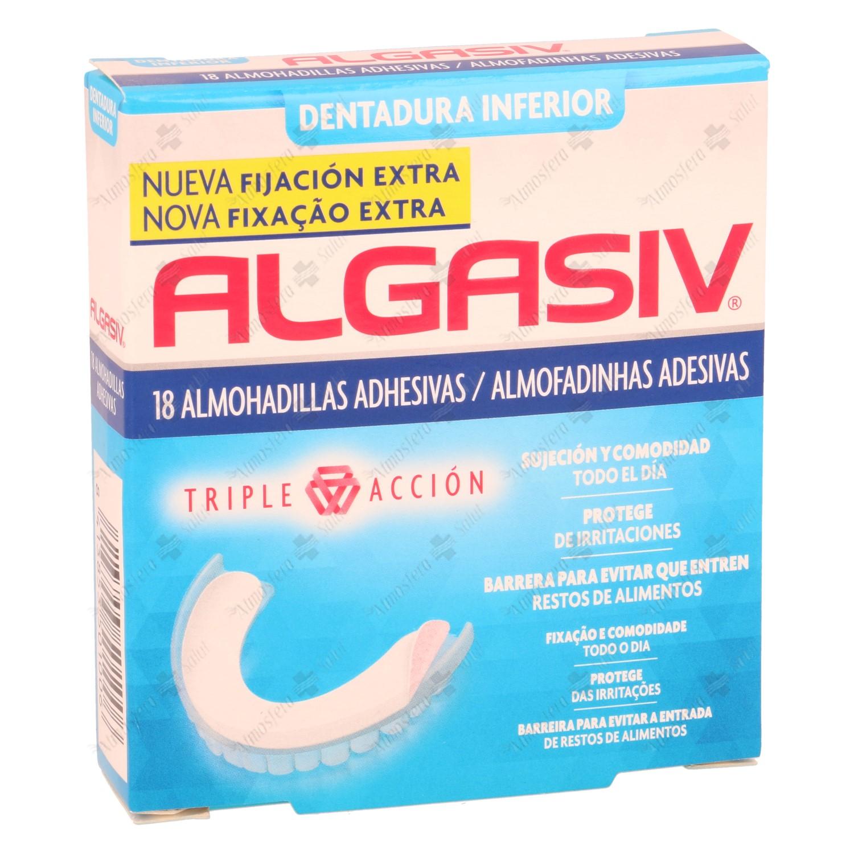 ALGASIV DENTADURA INFERIOR 18 UNIDADES