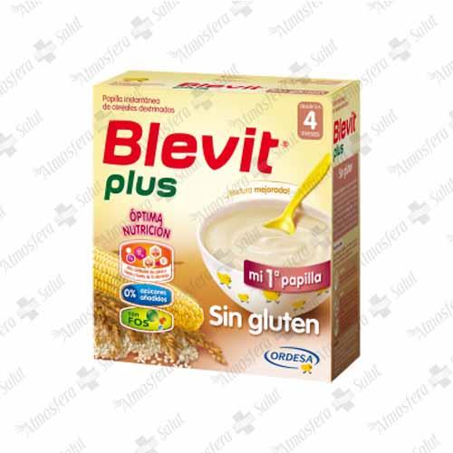 BLEVIT PLUS SIN GLUTEN 2X300G 600 G
