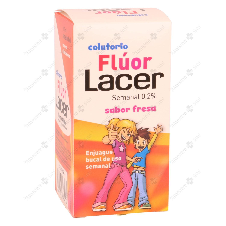 FLUOR LACER 0,2% SEMANAL FRESA 100 ML