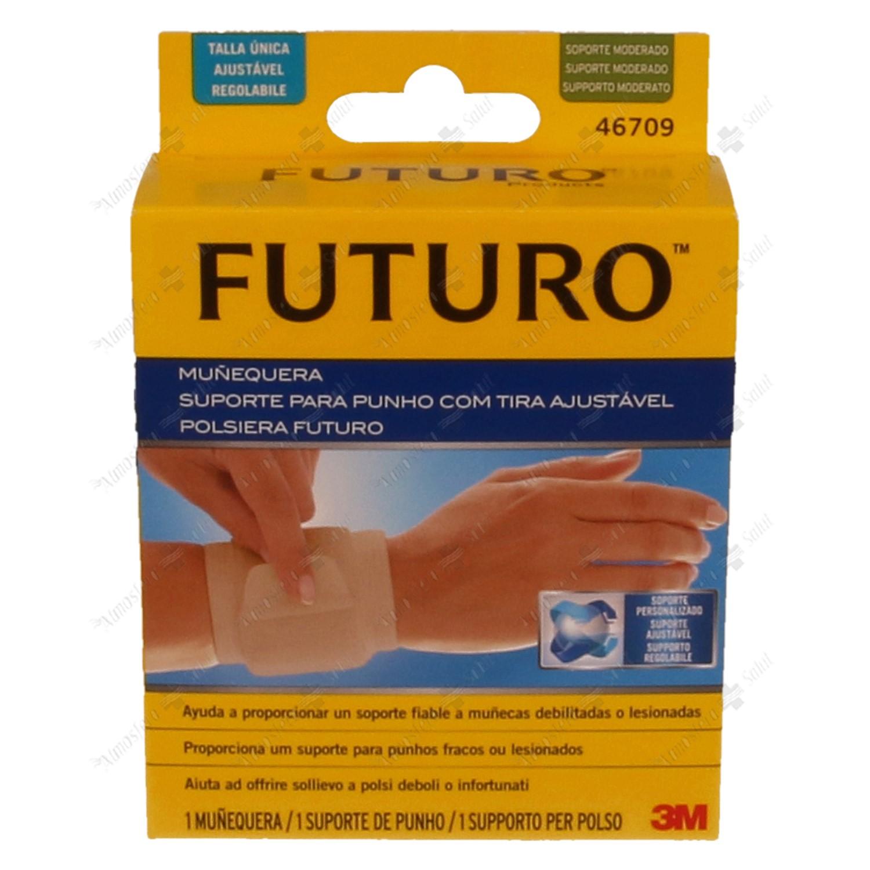 FURURO MUÑEQUERA AJUSTABLE VELCRO S/M