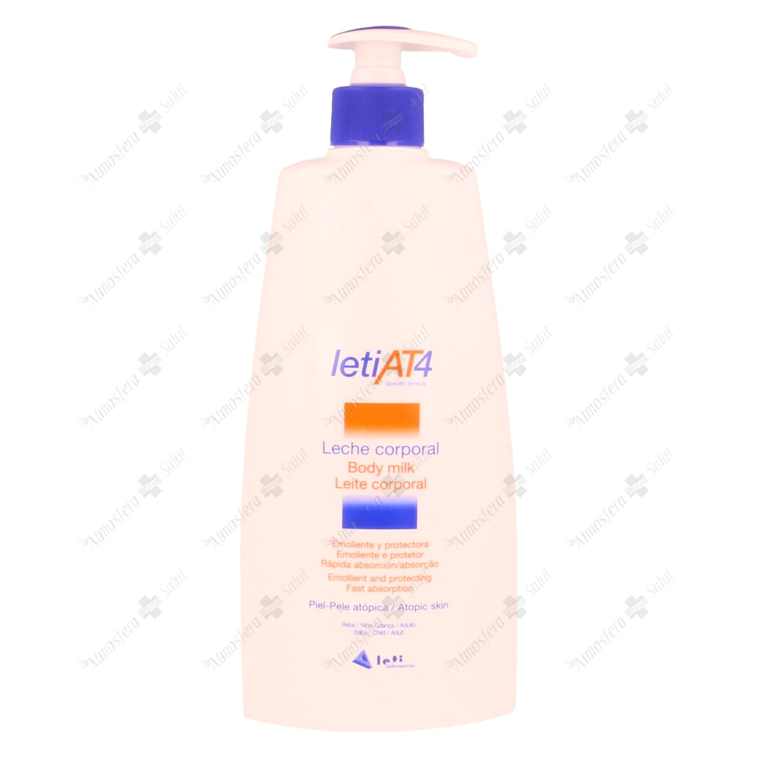 LETI AT-4 LECHE CORPORAL 500 ML