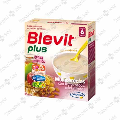 BLEVIT PLUS MULTICEREALES FRUTOS SECOS Y FRUTA 1