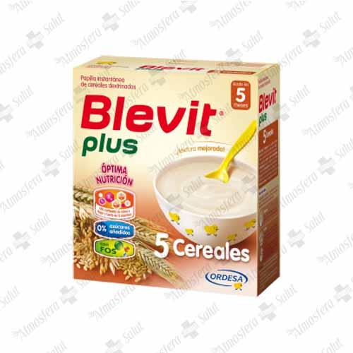 BLEVIT PLUS 5 CEREALES 2X300G 600 G