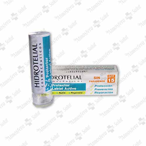HIDROTELIAL PROTECTOR LABIAL SPF 15 4 GR.- 350859 -