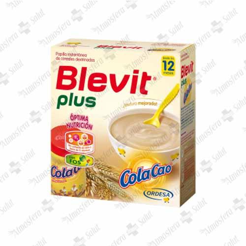BLEVIT PLUS COLA CAO 2X300 600 G